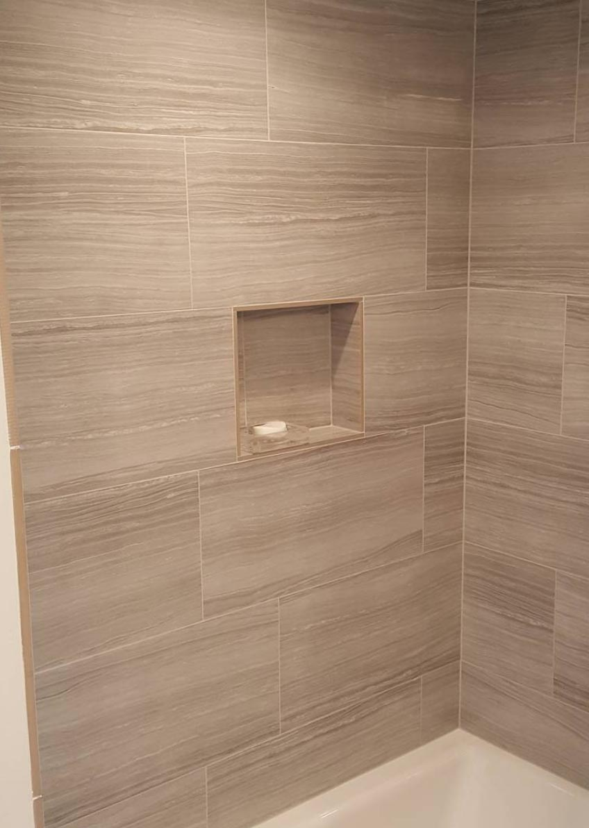 Big Tiles Are For Your Shower Too! – Custom Surfacing Associates